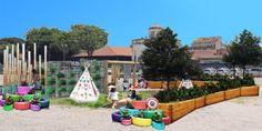 Un giardino sensoriale per bambini nel cuore di Roma finanziato dal basso
