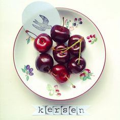 #adutchwordaday {day 306} Kersen - Cherries adutchwordaday.tumblr.com