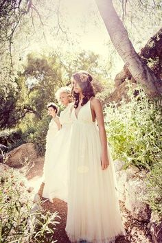 Bohemian Wedding Gown - The Amor Gown - Limited Production - made to order
