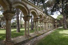 Claustro románico de Palamós, Girona