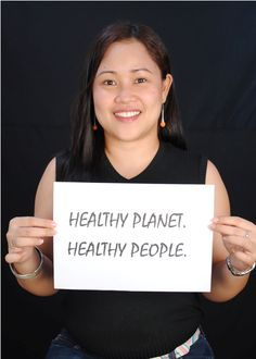 Joyce Lanuza of HCWH-Asia for Earth Day 2013.  #Faceofclimate