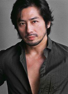 Hiroyuki Sanada http://rocknrollghost.com/2010/04/14/hiroyuki-sanada-practices-the-art-of-calm-in-latest-film