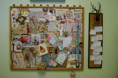 studio17 by Cathe Holden, via Flickr  I like the Inspiration game pieces.