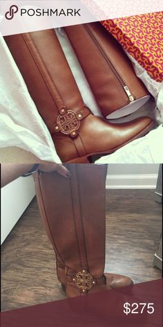 Tori Burch Amanda Riding Boots Size 7 These are in great condition! Paid well over $500 with tax for them when they were new. I'm open to offers Tory Burch Shoes Winter & Rain Boots