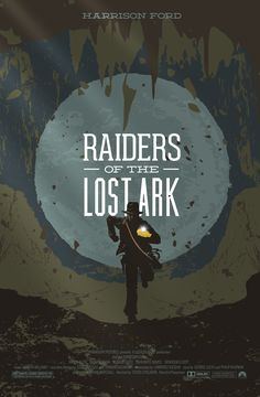 """Indiana Jones and the Raiders of the Lost Ark"" art - Wayne Dorrington - http://waynedorrington.blogspot.com.es/2013/02/80s-movies-raiders-of-lost-ark.html"