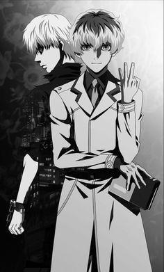 Tokyo Ghoul Kaneki And Haise Tokyo Ghoul Uta, Sasaki Tokyo Ghoul, Tokyo Ghoul Fan Art, Tokyo Ghoul Manga, Manga Anime, Manga Eyes, Anime Guys, Anime One, Dark Fantasy