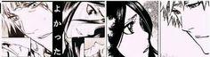 Rukia e Ichigo esses olhares *-*