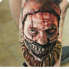 Twisty the Clown #Tattoos
