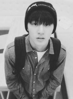 Cute af. Hanbin Kim