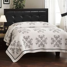 Sarah Black Quilt Collection $29.99 (for 2nd guest room)