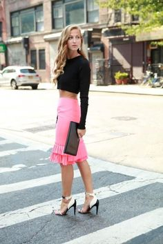 cute skirt...nasty skinny chic