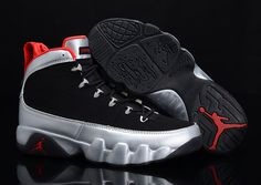 size 40 1c530 064eb Buy Chrismas Gift Edition Air Jordan 9 Ix Retro Mens Shoes Online Black  Silver Big Discount from Reliable Chrismas Gift Edition Air Jordan 9 Ix Retro  Mens ...