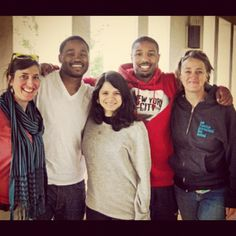 #ThrowbackThursday - Writer/director Ryan Coogler and cast members Michael B. Jordan and Melonie Diaz workshopped the script for FRUITVALE at the second round of Off the Page, a project development program of San Francisco Film Society's Filmmaker360