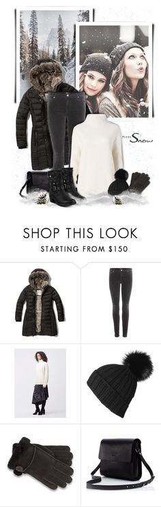 """""""For Elaine"""" by kiki-bi ❤ liked on Polyvore featuring Abercrombie & Fitch, 7 For All Mankind, Diane Von Furstenberg, UGG and Spring Step"""