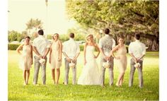 Cute bridal party