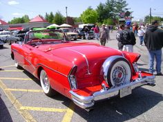 1956 Buick Roadmaster Convertible  with continental kit