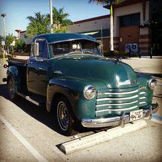 1951 Chevrolet 3100 Pickup Truck. #ClassicNation