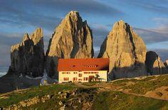 Rifugio Locatelli, Tre Cime di Lavaredo, Tretino Alto Adige, Italy
