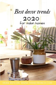 2020 promises to be a cusp year in decor with many old trends on their way out and new trends flouncing in. My most favourite trend this year is the use of a mix of neutrals and colour, with floral vintage curtains, that I am so keen on trying out! Vintage Curtains, Indian Homes, Indian Home Decor, Most Favorite, Decorating Blogs, New Trends, Decor Ideas, Goals, Colour