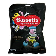 Bassetts Liquorice Allsorts consists of a colorful mixture of tart and tangy gummy candies that are sure to curb your sweet tooth! Imported from the UK. Irish Candy, British Sweets, Liquorice Allsorts, Irish Recipes, Great British, My Memory, Baby Car Seats, Sweet Tooth, Treats