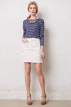 Anthropologie Bicoastal Zippered Cargo Skirt Size 28, By Hei Hei