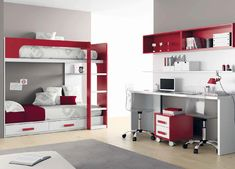 Miami and Aventura Contemporary and Modern Furniture - Kids Bedroom Sets Kids Bedroom Designs, Kids Bedroom Sets, Bedroom Bed Design, Room Ideas Bedroom, Girls Bedroom, Bedroom Decor, Corner Bunk Beds, Bunk Bed With Desk, Bunk Beds With Stairs