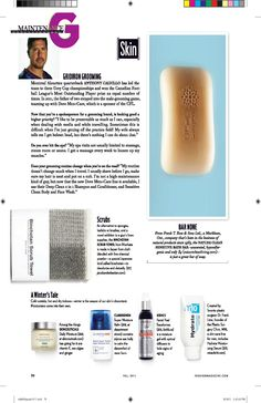 Hydrating Moisturizing Serum for Men (http://www.miracle10.com/men_hydrate.cfm) created by Dr. Frank Lista from the Plastic Surgery Clinic-Men's Fashion Magazine - Fall 2011 #menbeauty #menskin