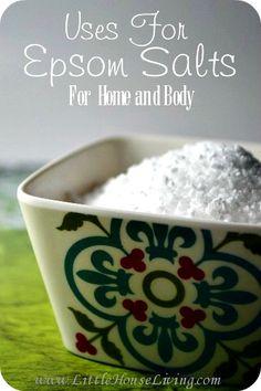 12 Uses For Epsom Salt