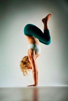 Kathryn Budig - toesox model in yoga journal