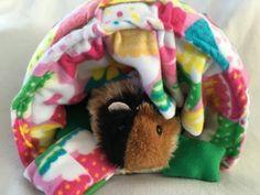 Guinea pig bed guinea pig hideout guinea pig by CreatedbyLauraB