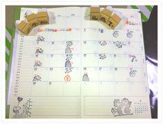 カレンダーや手帳に使えるスケジュール用消しゴムハンコです★カレンダーや手帳を可愛くデコレーションしてみませんか??(*^^*)お子様のお稽古も、ハンコで見た目すっきり!!写真にある物は今までご注文頂いたハンコです。写真にない絵柄をご希望の方は、できる限り...