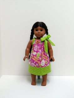 18 inch Doll Clothes American Girl, Happy Easter - 15 inch Bitty Twin. $8.00, via Etsy.