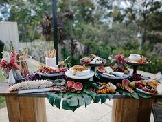 Grazing Table at our babes baby- que a few weeks back pic @flossy_photographer