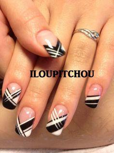 Nail Art Galleries French Tips - nail art galleries french tips , Nails - French Manicure Nail Designs, French Tip Nail Art, Nail Manicure, French Tips, Golden Nail Art, Golden Nails, Nail Art Designs Videos, Simple Nail Art Designs, Cute Acrylic Nails