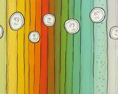DIY tutorial: colour gradation painting in three(ish) steps