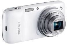 Samsung Announces New Galaxy Zoom, the smartphone that includes a 16 megapixel camera with a zoom lens. This is basically the merging of two markets, the smartphone market and the point and shoot camera market. Samsung Galaxy S4, Galaxy Phone, Galaxy Galaxy, Tablet Android, Android Apps, Android Phones, Free Android, Galaxy S4 Mini, Samsung Mobile