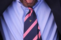 trashnessx:    Silk TR Tie Salmon! Only $29 incl. free worldwide shipping :-)http://store.trashness.com/product/silk-tr-tie-salmon