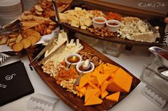 wedding reception food station pictures - Google Search