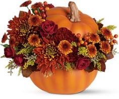 Danielle's Rockaway Florist - Shop here for halloween and autumn flower arrangements!