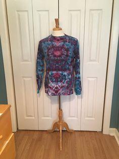 Tie Dye Tunic Ice Dyed Tie Dye Tank Sleeveless Tanktop Tunic Top Green Blue Orchid Single Burst Design Women/'s S M L XL 2X 3X Plus Sizes