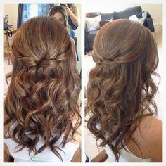 peinado largo con ondulados