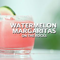 The Secret To Making The Best Watermelon Margarita Margaritas are no doubt the drink of the season. The ice-cold beverage instantly turns a casual pool day into a celebration, and if you're l Party Drinks, Cocktail Drinks, Fun Drinks, Cold Drinks, Cocktail Recipes, Beverages, Tequila Drinks, Liquor Drinks, Bourbon Drinks