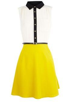 Oasis Formal   Multi Colourblock Shirt Dress   Womens Fashion Clothing   Oasis Stores UK - StyleSays