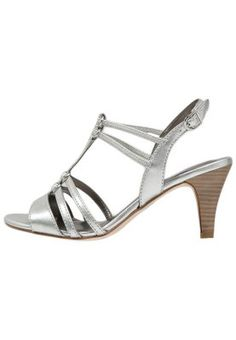 Sandaalit nilkkaremmillä - silver Sandals, Silver, Shoes, Fashion, Moda, Shoes Sandals, Zapatos, Shoes Outlet, Fashion Styles
