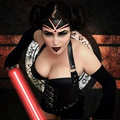Sith Leia ❤️ by Dominique Skye