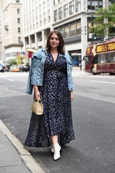 Plus Size Street Style from New York Fashion Week | Dia&Co