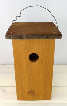 Modern Bird House, Handcrafted Outdoor Wooden Bird Houses For Sale For Nesting…