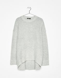 Oversized sweater. Discover this and many more items in Bershka with new products every week