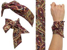 Soie comme twilly foulard pur Twill Sac à Main Poignée Wrap foulards cheveux nœud ruban