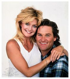Goldie Hawn, Kurt Russel I love these two!!